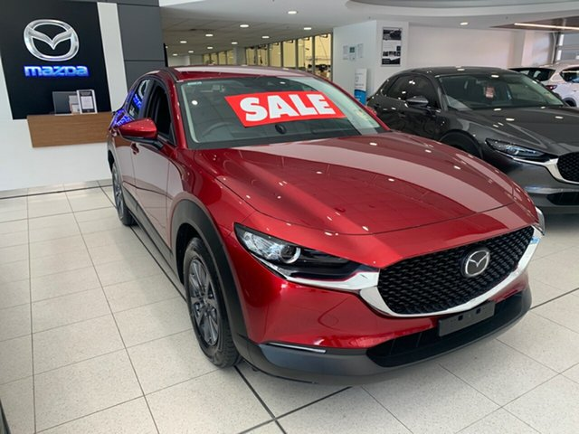 New Mazda CX-30 DM2W7A G20 SKYACTIV-Drive Pure Alexandria, 2020 Mazda CX-30 DM2W7A G20 SKYACTIV-Drive Pure Soul Red Crystal 6 Speed Sports Automatic Wagon
