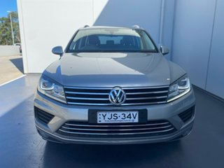 2015 Volkswagen Touareg 7P MY15 V6 TDI Tiptronic 4MOTION Silver 8 Speed Sports Automatic Wagon.