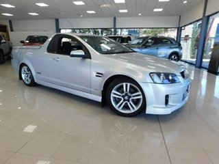 2010 Holden Ute VE MY10 SS Silver 6 Speed Manual Utility.