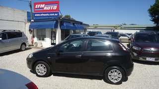 2013 Fiat Punto MY13 Easy Dualogic Black 5 Speed Sports Automatic Single Clutch Hatchback.
