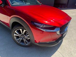 2020 Mazda CX-30 DM4WLA G25 SKYACTIV-Drive i-ACTIV AWD Astina Soul Red Crystal 6 Speed.
