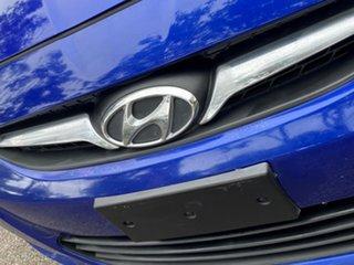2013 Hyundai Accent RB2 Active Metallic Blue 6 Speed Manual Sedan