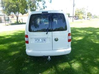 2008 Volkswagen Caddy 2KN White Manual Van