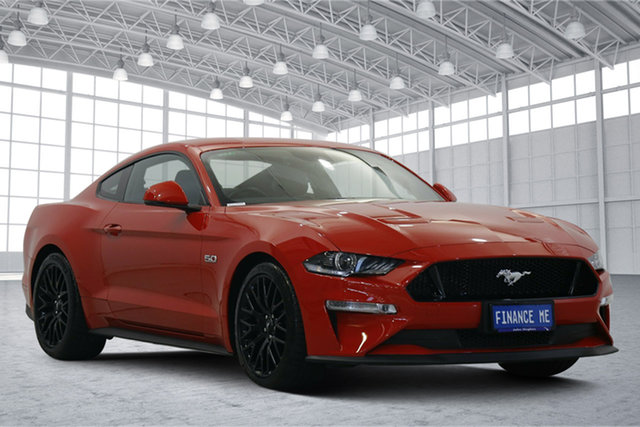 Used Ford Mustang FN 2018MY GT Fastback SelectShift Victoria Park, 2018 Ford Mustang FN 2018MY GT Fastback SelectShift Race Red 10 Speed Sports Automatic Fastback