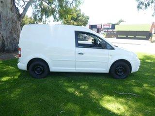 2008 Volkswagen Caddy 2KN White Manual Van.