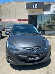 2013 Mazda 2 DE MY14 Neo Sport Grey 5 Speed Manual Hatchback.