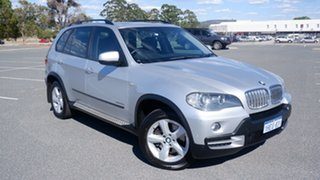 2009 BMW X5 E70 MY10 xDrive35d Steptronic Silver 6 Speed Sports Automatic Wagon.