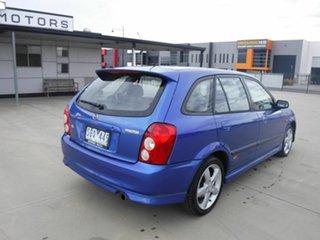 2003 Mazda 323 BJ II-J48 Astina Blue 5 Speed Manual Hatchback.