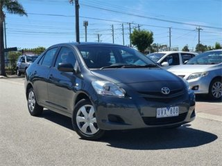 2007 Toyota Yaris NCP93R YRS Grey 5 Speed Manual Sedan.