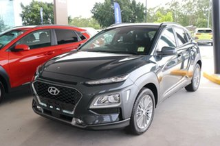 2020 Hyundai Kona OS.3 MY20 Elite 2WD Dark Knight 6 Speed Sports Automatic Wagon