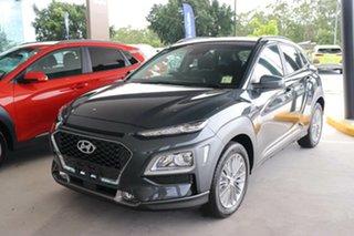 2020 Hyundai Kona OS.3 MY20 Elite 2WD Dark Knight 6 Speed Sports Automatic Wagon.