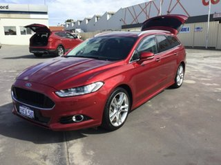 2017 Ford Mondeo MD 2017.50MY Titanium Red 6 Speed Sports Automatic Dual Clutch Wagon.