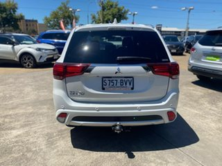 2017 Mitsubishi Outlander ZK MY18 PHEV AWD Exceed White 1 Speed Automatic Wagon Hybrid