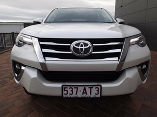 2019 Toyota Fortuner GUN156R Crusade White 6 Speed Automatic Wagon