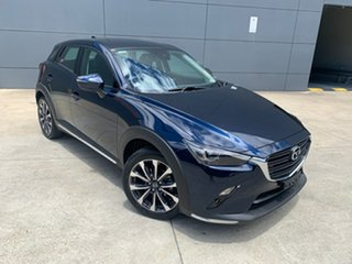 2020 Mazda CX-3 DK2W7A sTouring SKYACTIV-Drive FWD Deep Crystal Blue 6 Speed Sports Automatic Wagon.