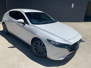 2020 Mazda 3 BP2HL6 G25 SKYACTIV-MT GT Snowflake White 6 Speed Manual Hatchback.