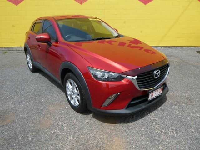 Used Mazda CX-3 DK4W7A Maxx SKYACTIV-Drive i-ACTIV AWD Winnellie, 2015 Mazda CX-3 DK4W7A Maxx SKYACTIV-Drive i-ACTIV AWD Red 6 Speed Sports Automatic Wagon