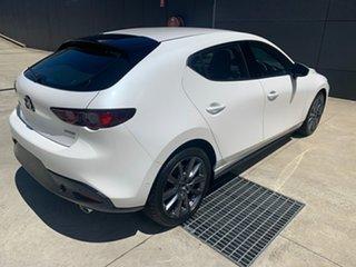 2020 Mazda 3 BP2HL6 G25 SKYACTIV-MT GT Snowflake White 6 Speed Manual Hatchback