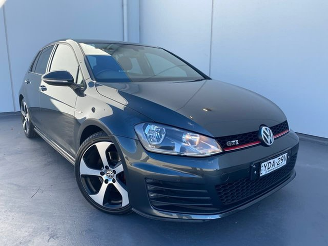 Used Volkswagen Golf VII MY15 GTI DSG Liverpool, 2014 Volkswagen Golf VII MY15 GTI DSG Grey 6 Speed Sports Automatic Dual Clutch Hatchback