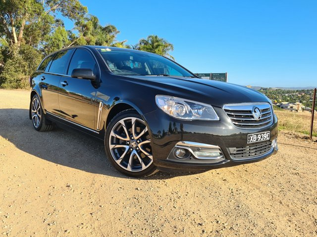 Used Holden Calais VF II MY16 V Sportwagon Nailsworth, 2016 Holden Calais VF II MY16 V Sportwagon Black 6 Speed Sports Automatic Wagon