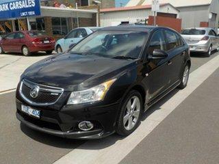 2011 Holden Cruze JH MY12 SRi V Black 6 Speed Automatic Hatchback.