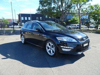 2012 Ford Mondeo MC Titanium TDCi Panther Black 6 Speed Sports Automatic Dual Clutch Wagon.
