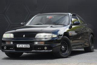 1994 Nissan Skyline ECR33 GTS-T Black 4 Speed Automatic Coupe.