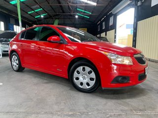 2012 Holden Cruze JH MY12 CD Red 6 Speed Automatic Hatchback.