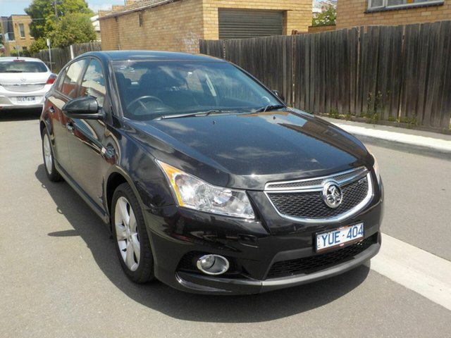 Used Holden Cruze JH MY12 SRi V Newtown, 2011 Holden Cruze JH MY12 SRi V Black 6 Speed Automatic Hatchback