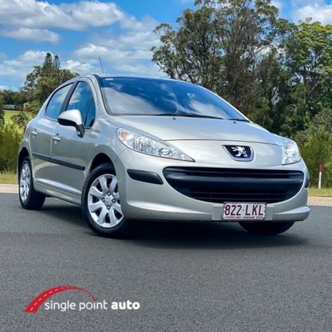 Used Peugeot 207 A7 XT Chevallum, 2009 Peugeot 207 A7 XT Silver 4 Speed Sports Automatic Hatchback