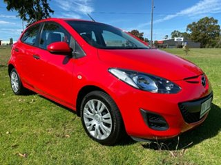 2010 Mazda 2 DE10Y1 Neo Red 5 Speed Manual Hatchback.