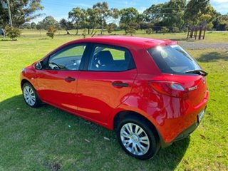 2010 Mazda 2 DE10Y1 Neo Red 5 Speed Manual Hatchback