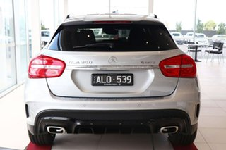 2016 Mercedes-Benz GLA-Class X156 806MY GLA250 DCT 4MATIC Silver 7 Speed