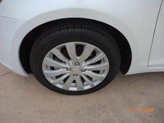 2012 Suzuki Swift FZ GLX White 4 Speed Automatic Hatchback