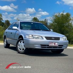 1998 Toyota Camry MCV20R Conquest Blue 4 Speed Automatic Sedan.