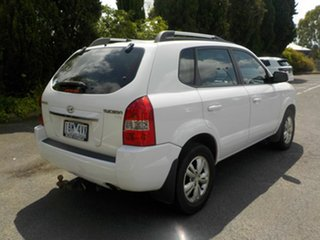 2008 Hyundai Tucson MY07 City SX White 5 Speed Manual Wagon