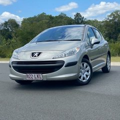 2009 Peugeot 207 A7 XT Silver 4 Speed Sports Automatic Hatchback.