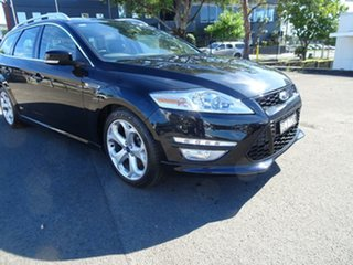 2012 Ford Mondeo MC Titanium TDCi Panther Black 6 Speed Sports Automatic Dual Clutch Wagon