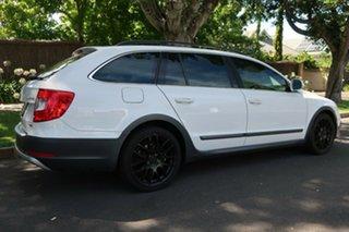 2014 Skoda Superb 3T MY15 Outdoor DSG 125TDI White 6 Speed Sports Automatic Dual Clutch Wagon