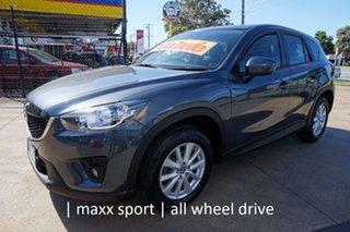 2012 Mazda CX-5 KE1071 Maxx SKYACTIV-Drive AWD Sport Grey 6 Speed Sports Automatic Wagon.