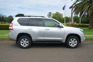 2014 Toyota Landcruiser Prado KDJ150R MY14 Altitude (4x4) Silver 5 Speed Sequential Auto Wagon.