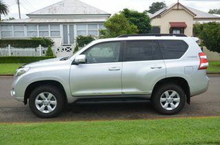 2014 Toyota Landcruiser Prado KDJ150R MY14 Altitude (4x4) Silver 5 Speed Sequential Auto Wagon