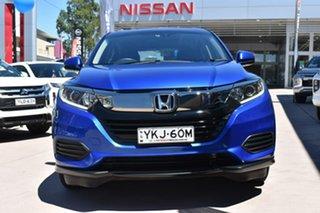 2018 Honda HR-V MY18 VTi Blue 1 Speed Constant Variable Hatchback