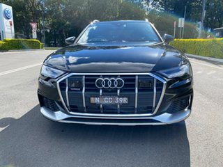 2020 Audi A6 4A MY20 Allroad Tiptronic Quattro 45 TDI Black 8 Speed Sports Automatic Wagon.