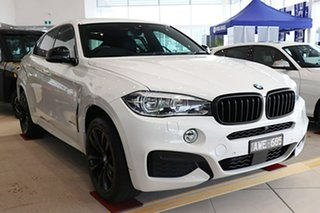 2018 BMW X6 F16 xDrive30d Coupe Steptronic White 8 Speed Sports Automatic Wagon