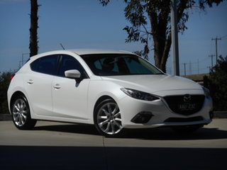 2013 Mazda 3 BL10L2 MY13 SP25 Activematic White 5 Speed Sports Automatic Hatchback.