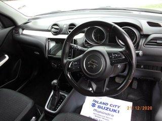2017 Suzuki Swift AL GL Navigator White Continuous Variable Hatchback