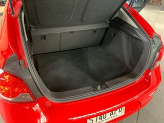 2012 Holden Cruze JH MY12 CD Red 6 Speed Automatic Hatchback