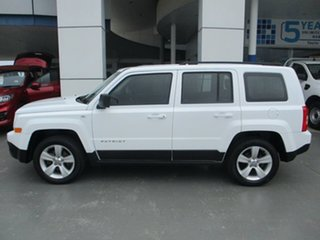 2015 Jeep Patriot MK MY16 Sport (4x2) White 6 Speed Automatic Wagon.