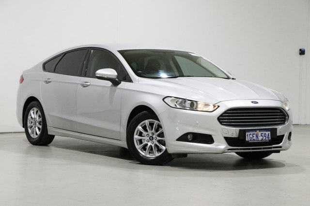 Used Ford Mondeo MD Ambiente Bentley, 2016 Ford Mondeo MD Ambiente Silver 6 Speed Automatic Hatchback